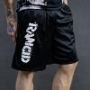 IMAGE | Stencil Logo Champion Shorts (Black) - detail 3