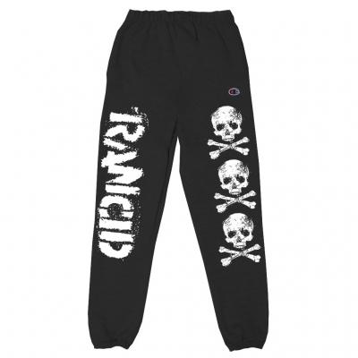 D-Skull Sweat Pants (Black)