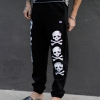 IMAGE   D-Skull Sweat Pants (Black) - detail 3