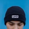 IMAGE | Stencil Logo Beanie (Black) - detail 2