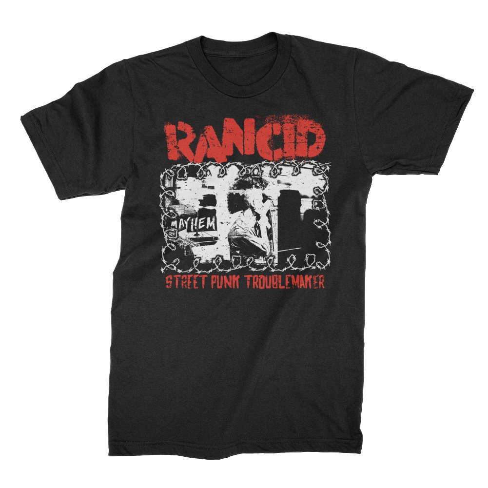 IMAGE | Street Punk Troublemaker T-Shirt (Black)