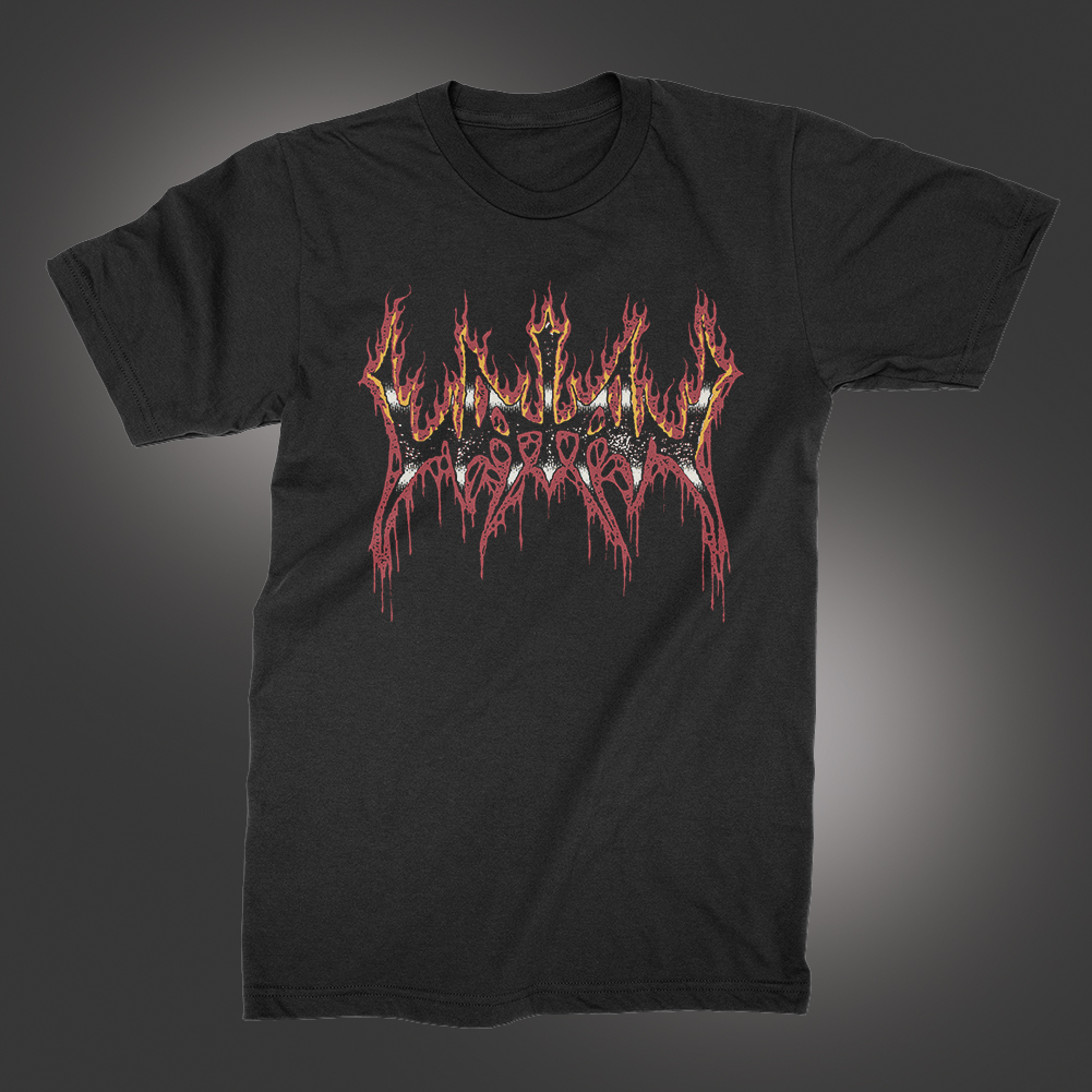 IMAGE   Fire Logo T-Shirt (Black)