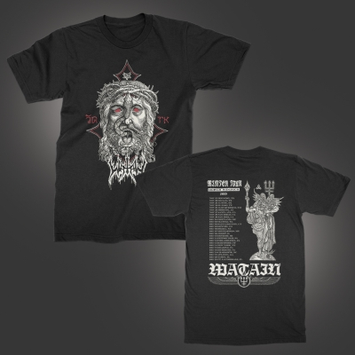 watain - 2019 Winter Tour T-Shirt (Black)