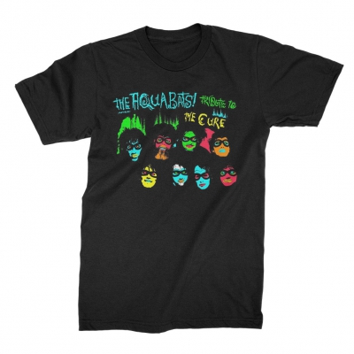 the-aquabats - Tribute To The Cure Tee (Black)