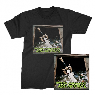 The Garden - Kiss My Super Bowl Ring CD + Tee (Black) Bundle
