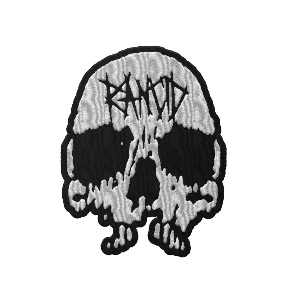 Skull Die Cut Patch