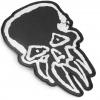 IMAGE | LWW Skull Die Cut Patch (Black) - detail 2