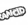 IMAGE   Stencil Logo Die Cut Patch (White) - detail 2