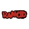 IMAGE   Stencil Logo Die Cut Patch (Red) - detail 1