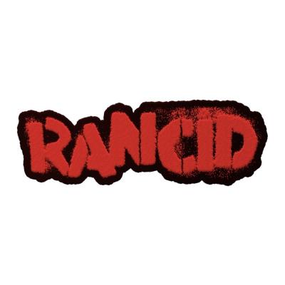 Stencil Logo Die Cut Patch (Red)