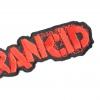 IMAGE   Stencil Logo Die Cut Patch (Red) - detail 2