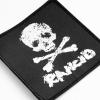 IMAGE | D-Skull Woven Patch (Black) - detail 2