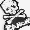 IMAGE | D-Skull Die Cut Patch (White) - detail 2