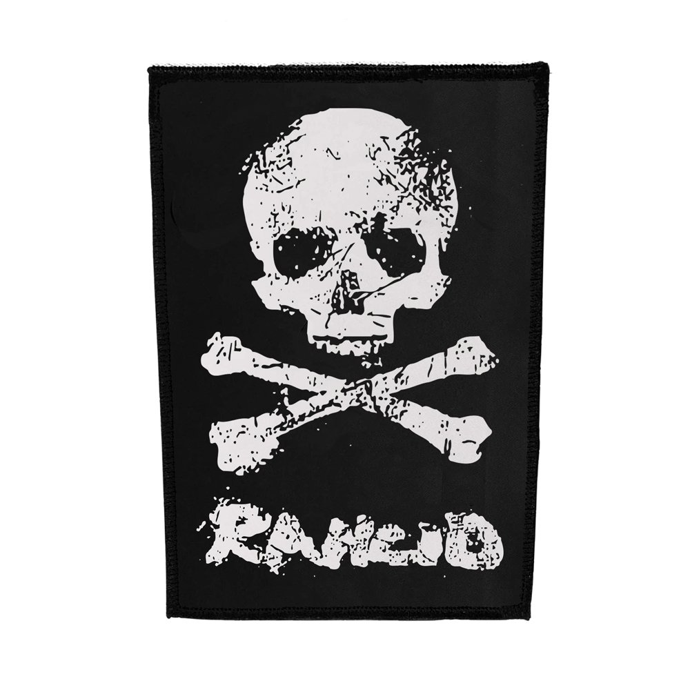 D-Skull Canvas Back Patch