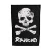 IMAGE | D-Skull Canvas Back Patch - detail 1