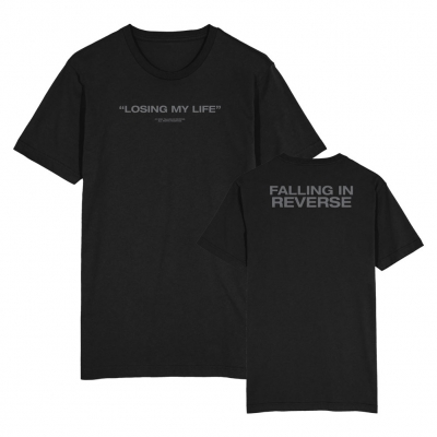 falling-in-reverse - Losing My Life Tee (Black)