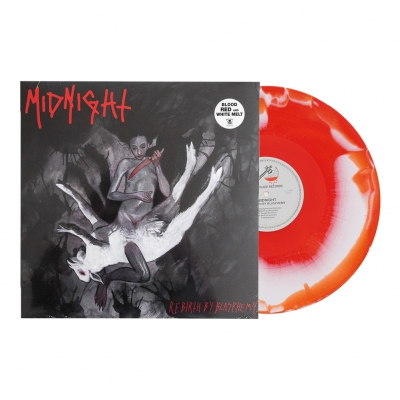 midnight - Rebirth By Blasphemy LP (Blood Red/White)