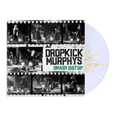 "dropkick-murphys - Smash Shit Up 12"" EP (White/Gold)"