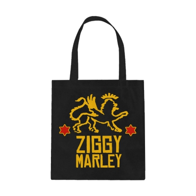 ziggy-marley - Red Star Lion Tote (Black)