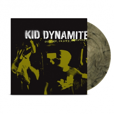 Kid Dynamite - Shorter, Faster, Louder LP (Clear/Black)