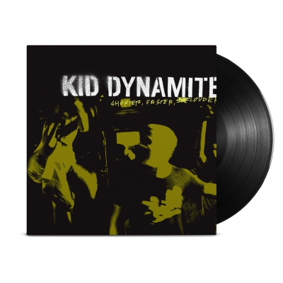Kid Dynamite - Shorter, Faster, Louder LP (Black)