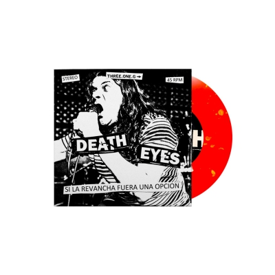 "Death Eyes - Si La Revancha Fuera Una Opcion 7"" EP (Red/Yellow)"