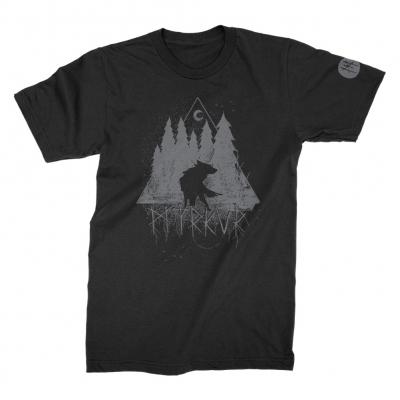 myrkur - Wolf Forrest Tee (Black)
