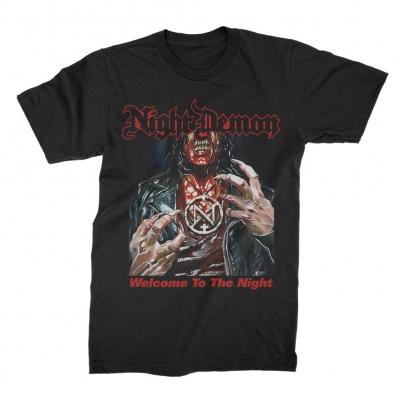 night-demon - WTTN T-Shirt (Black)