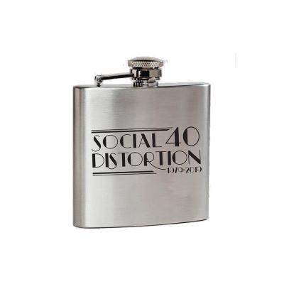 social-distortion - 40th Metal Flask