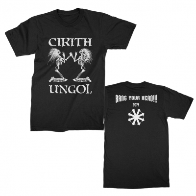 cirith-ungol - Bang Your Head Tee (Black)