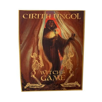 cirith-ungol - Witches Game Back Patch (Gold Border)