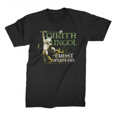cirith-ungol - Frost and Fire Tee (Black)