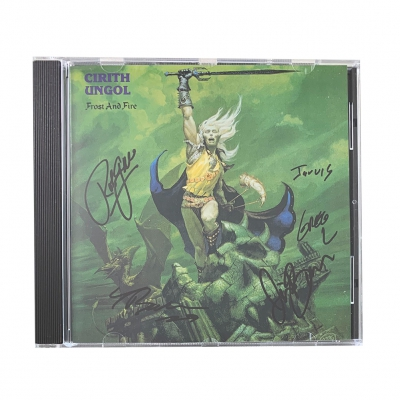 cirith-ungol - Frost & Fire CD (Signed)