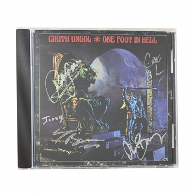 cirith-ungol - One Foot In Hell CD (Signed)