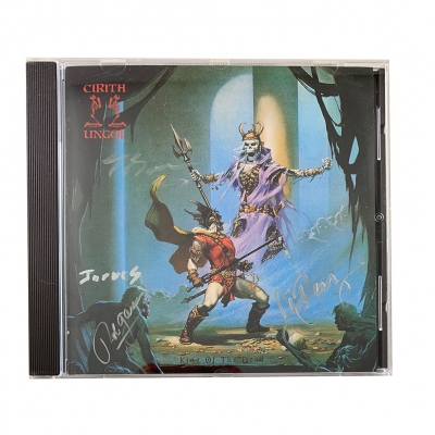 cirith-ungol - King Of The Dead CD (Signed)