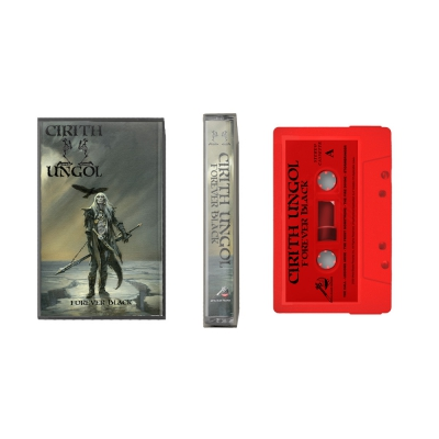 cirith-ungol - Forever Black Cassette (Red)
