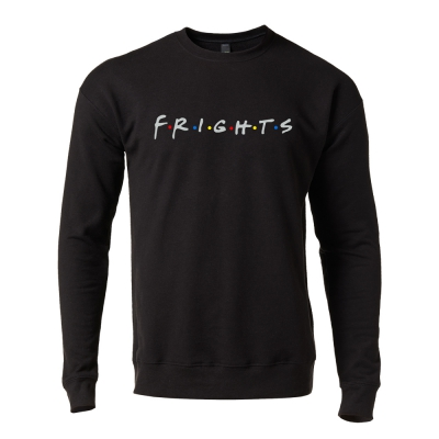the-frights - Friends Crew Sweatshirt (Black)
