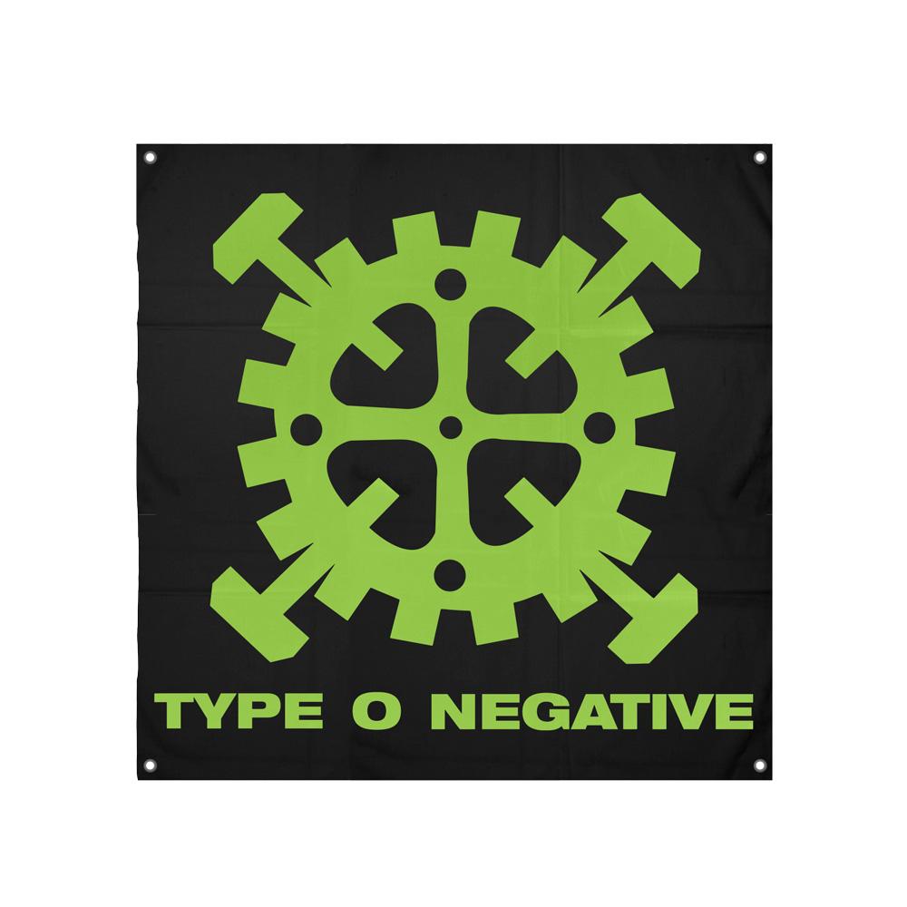 IMAGE   Type O Negative Logo Flag