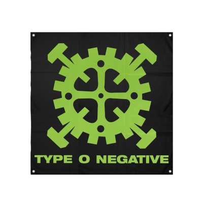 Type O Negative Logo Flag
