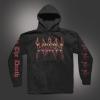IMAGE | Fire Logo Pullover Hoodie (Black) - detail 1