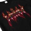 IMAGE   Fire Logo Long Sleeve T-Shirt (Black) - detail 2