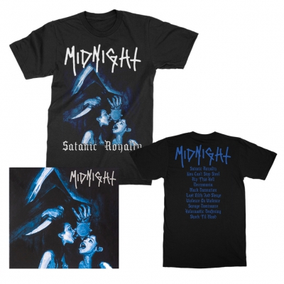 midnight - Satanic Royalty CD + T-Shirt Bundle