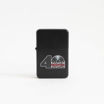 social-distortion - 40th Anniversary Logo Flip Top Lighter (Black)