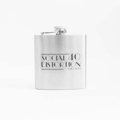social-distortion - 40th Anniversary Metal Flask