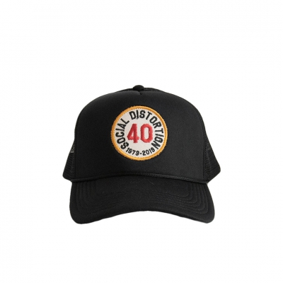 Patch Trucker Hat (Black)