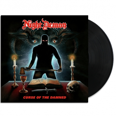 night-demon - Curse of the Damned LP (Black)