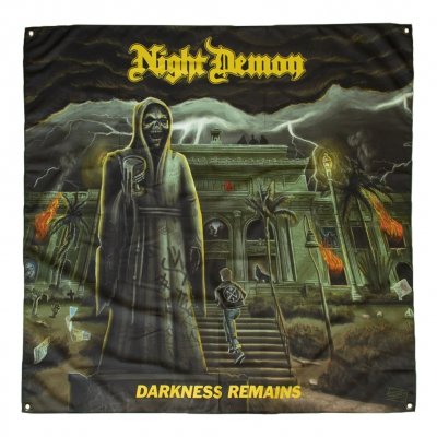 night-demon - Darkness Remains Flag (4'x4')