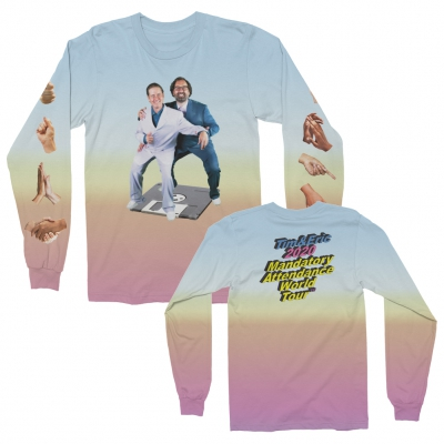 tim-and-eric - MAWT Long Sleeve (Dip Dye)