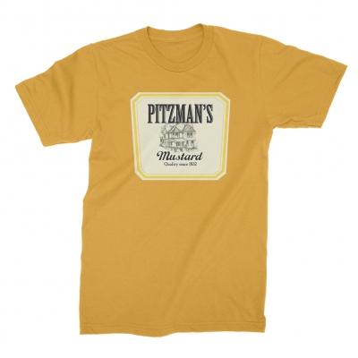 tim-and-eric - Pitzman's Mustard Tee (Mustard)