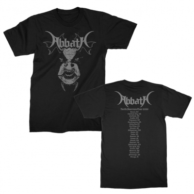 abbath - Olve 2020 Tour T-Shirt (Black)